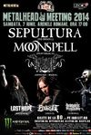 Sepultura si Moonspell la METALHEAD MEETING 2014