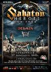 SABATON, Delain si Battle Beast - 27 ianuarie - Bucuresti
