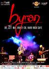 Concert byron in Hard Rock Cafe pe 21 mai