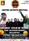 Subcarpati, Vita de Vie, Trooper, Les Elephants Bizarres si altii canta in a doua zi de United Artists Festival
