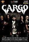 CARGO canta pe 21 aprilie la Hard Rock Cafe din Bucuresti