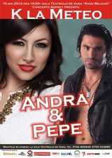 Concert Andra si Pepe la Teatrul de Vara din Bacau