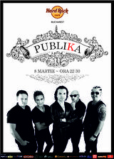 Concert de Ziua Femeii - Publika in Hard Rock Cafe