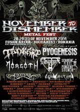 NOVEMBER TO DISMEMBER METAL FEST @ Fusion Arena
