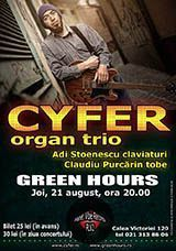 Concert Cyfer Organ Trio in Green Hours