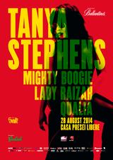 Concert Tanya Stephens pe 28 August in Curtea Casei Presei Libere