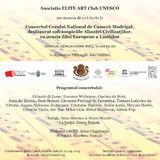 Concert Corul National de Camera Madrigal cu ocazia Zilei Europene a Limbilor la Biblioteca Nationala