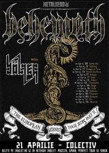 Concert Behemoth in Club Colectiv