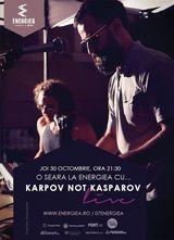 Concert Karpov not Kasparov live in Energiea