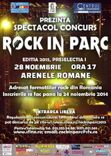 Festival Rock in Parc 2015 - Preselectia I la Arenele Romane
