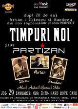 Concert Timpuri Noi si Partizan la Hard Rock Cafe