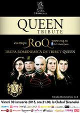 Concert tribut Queen cu trupa RoQ la Clubul Taranului