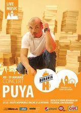 Concert Puya in Beraria H pe 29 ianuarie