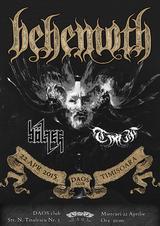 Concert Behemoth in Club Daos Timisoara pe 22 aprilie