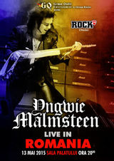 Concert Yngwie Malmsteen la Sala Palatului pe 13 mai