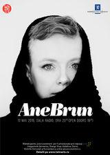 Concert Ane Brun la Sala Radio pe 10 mai