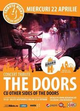 Concert Tribute The Doors la Beraria H pe 22 aprilie