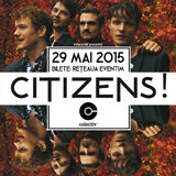 Concert Citizens in Club Colectiv pe 29 mai