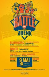Prima editie Battle On Arena in Club Colectiv pe 9 mai