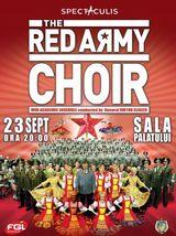 Concert Corul Armatei Rosii la Sala Palatului pe 23 septembrie