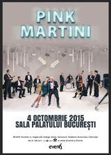 Concert Pink Martini la Sala Palatului pe 4 octombrie