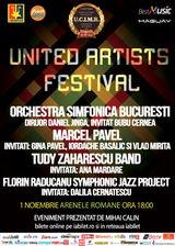 Marcel Pavel, Orchestra Simfonica Bucuresti si multi altii canta la United Artists Festival