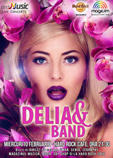 DELIA & Band canta pe 10 februarie la Hard Rock Cafe