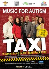 Concert caritabil cu TAXI, pe 9 septembrie la Hard Rock Cafe
