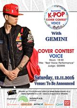 Gemini in concert la Romanian K-Pop Cover Voice Contest 2016