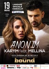Eveniment de lansare videoclip: Karym si Mellina pornesc impreuna
