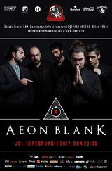 Concert Aeon Blank la Doors Club