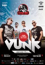 Concert VUNK de Dragobete, la Doors Club