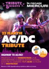 Concert tribut AC/DC cu HIGH/VOLTAGE