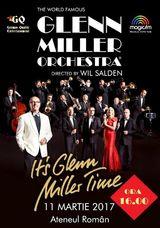 Concert Glenn Miller Orchestra pe 11 martie la Ateneul Roman