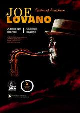 JOE LOVANO: Master of Saxophone live pe 25 martie la Sala Radio