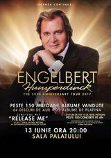 Concert ENGELBERT HUMPERDINCK pe 13 iunie la Sala Palatului