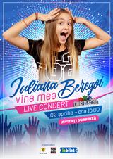 Concert Iuliana Beregoi pe 2 aprilie la Cinema Pro