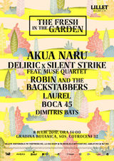 AKUA NARU / DeliricxSilent Strike feat. Muse Quartet / Robin and the Backstabbers / Laurel/Boca 45 / Dimitris Bats