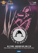 BestMusic cu Carla's Dreams pe 22 iunie la Hard Rock Cafe