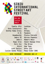 Sibiu International Street ART Festival: Line-up 2017