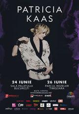 Patricia Kaas va concerta pe 24 iunie la Bucuresti