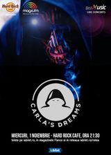 Concert Carla's Dreams pe 1 noiembrie la Hard Rock Cafe