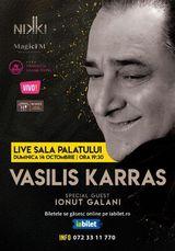 Concert Live Vasilis Karras & Ionut Galani @ Sala Palatului