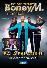 Boney M feat Liz Mitchell - 40th Anniversary (opening act Ottawan)