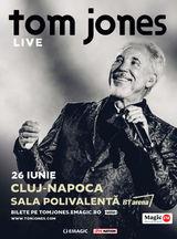 Concert Tom Jones la Cluj-Napoca