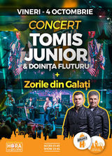 Concert TOMIS JUNIOR & Doinia Fluturu + Zorile din Galai