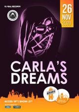 Carla's Dreams // 26 noiembrie // Beraria H