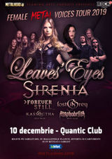 The Female Metal Voices Tour 2019 la Bucuresti