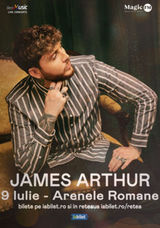 Concert James Arthur la Bucuresti