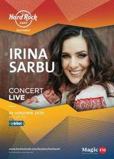 Concert Irina Sarbu pe 24 ianuarie